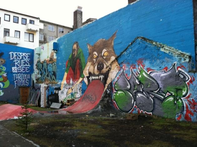 Street Art Reykjavik Iceland