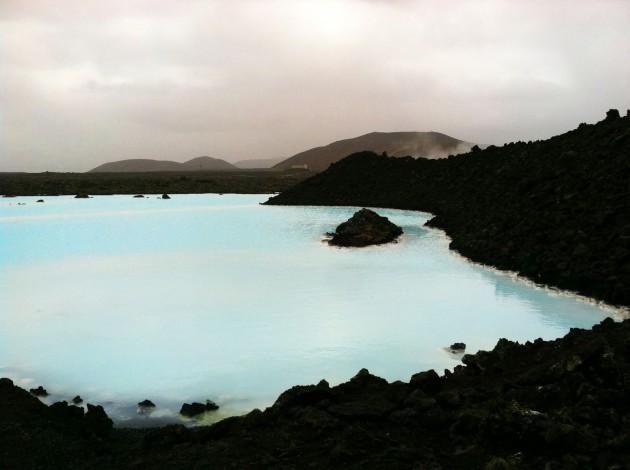 The Blue Lagoon Hot Spring Outside Reykjavik