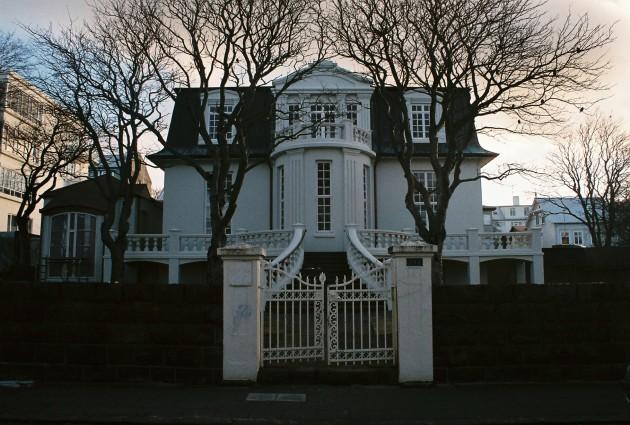 House in Reykjavik, Iceland