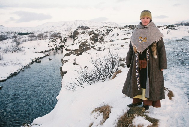 Traditional Viking attire