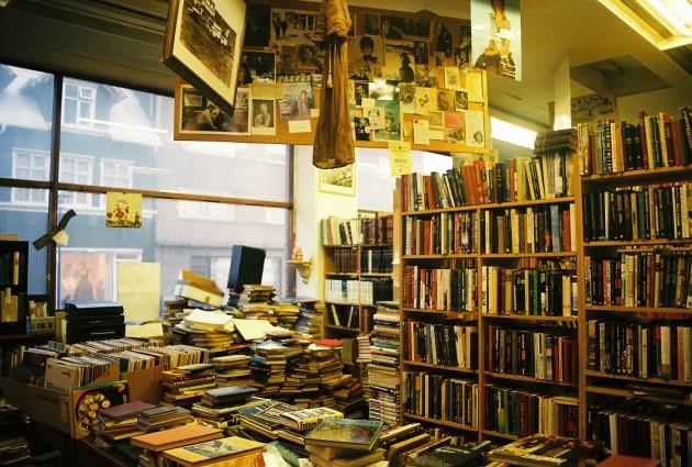 Bókin, a used bookstore in Reykjavik, Iceland