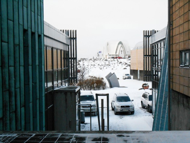 Kopavegur, a suburb of Reykjavik, Iceland
