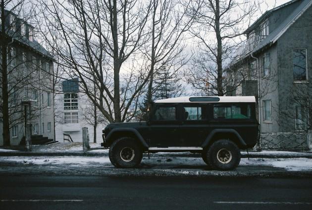 Truck in Reykjavik, Iceland