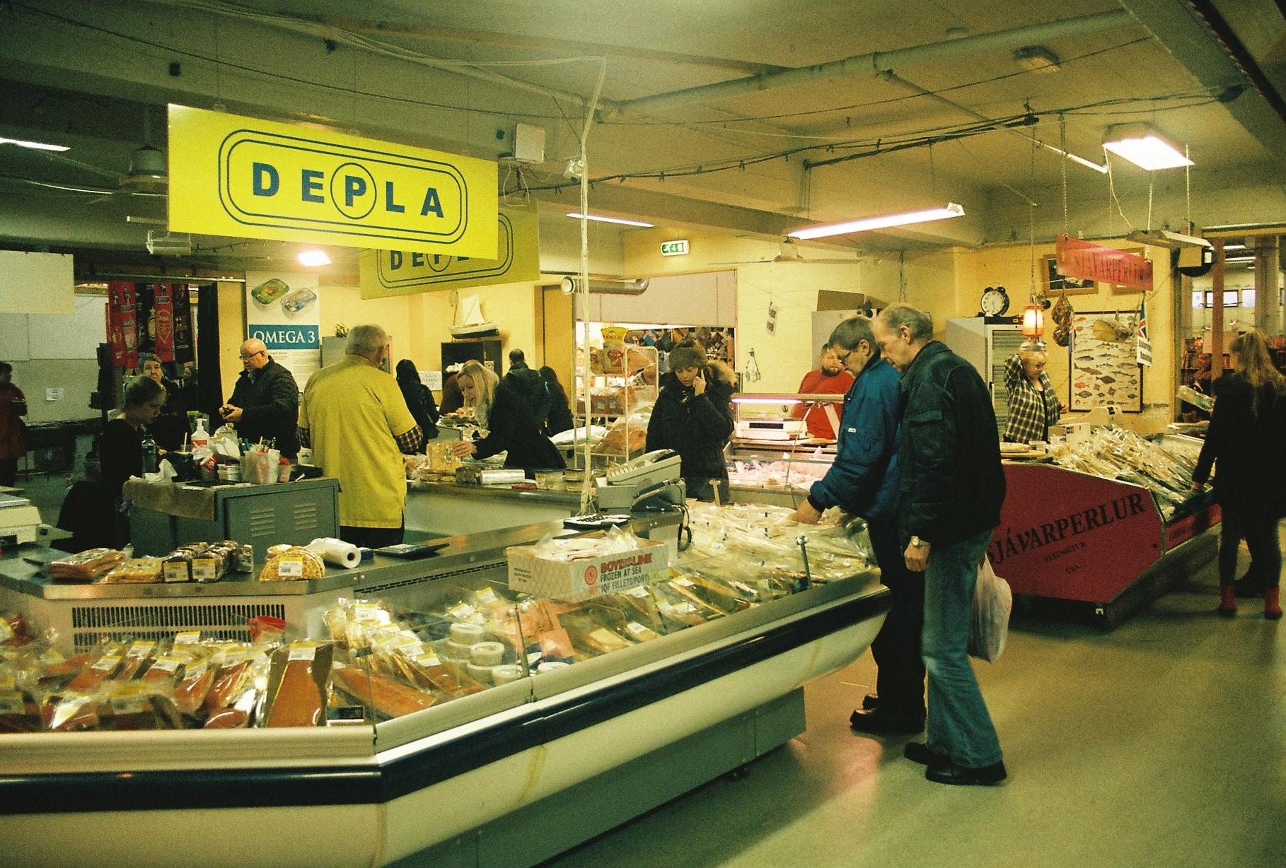 Flea market reykjavik it all started in iceland for Fish market reykjavik