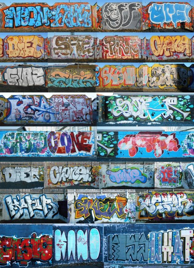 Graffiti in Reykjavik, Iceland