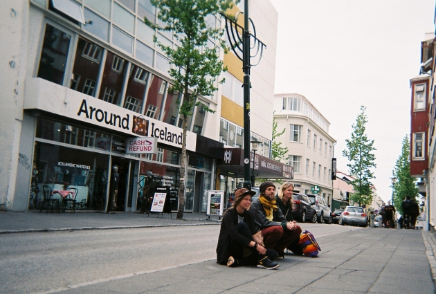 Myndra Street Performance in Reykjavik, Iceland