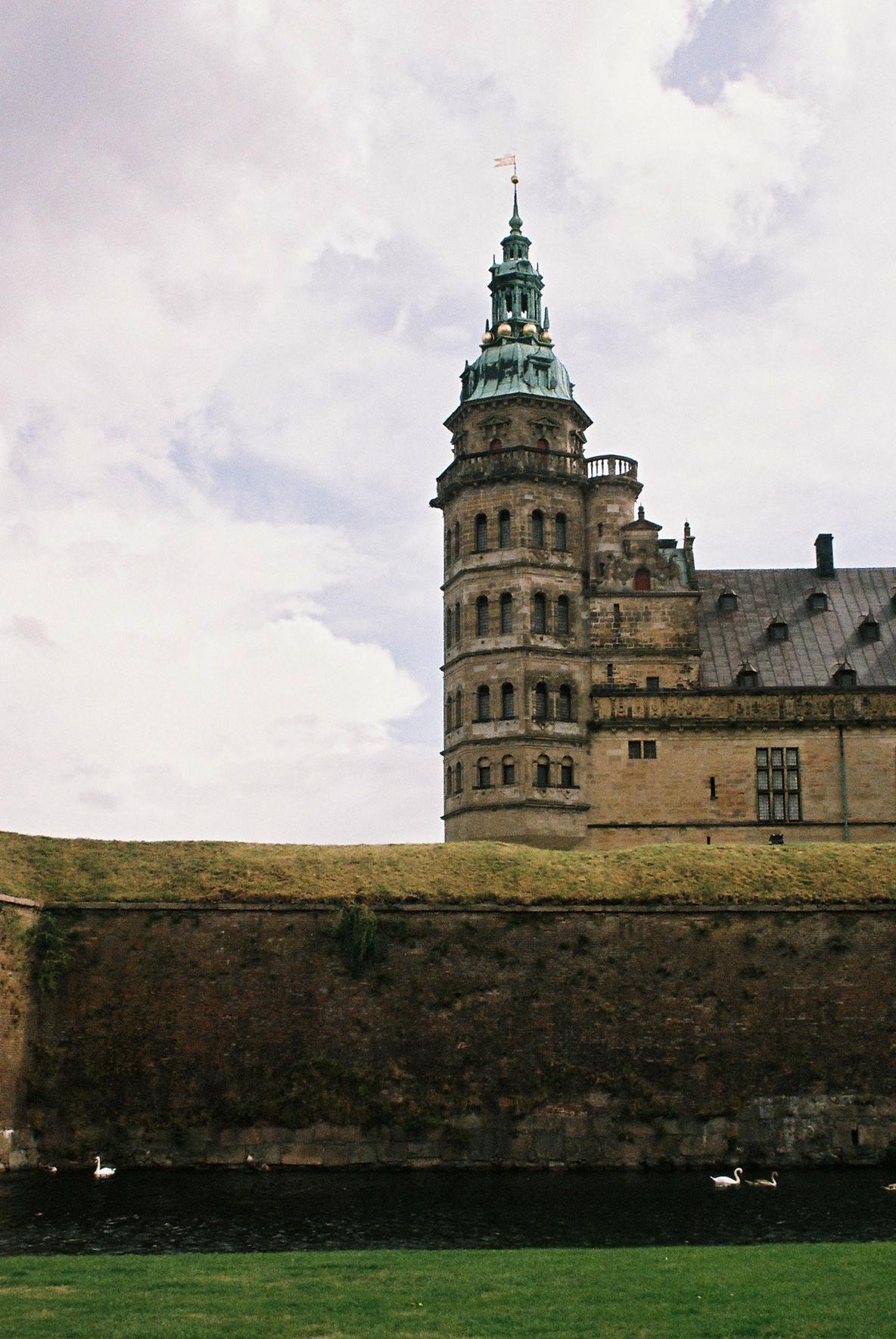 Hamlet Castle Drawing Kronborg Castle Helsingor