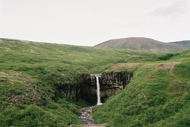 Skaftafell, Iceland, svartifoss