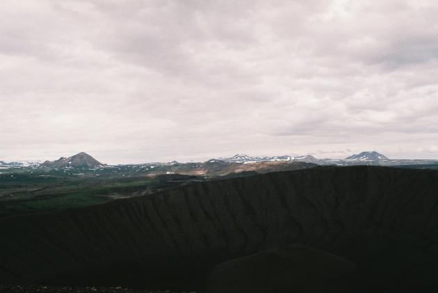 Hverfjall, Dimmuborgir, Iceland